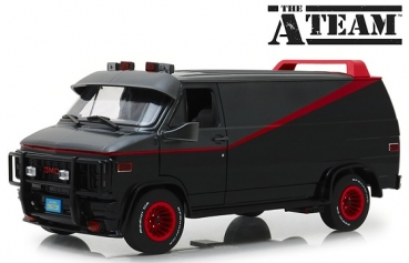 13521 The A-Team (1983-87 TV Series) - 1983 GMC Vandura 1:18