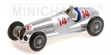 155373114 MERCEDES-BENZ W125 – DAIMLER – BENZ AG – MANFRED V. BRAUCHITSCH – 2ND PLACE GP VON DEUTSCHLAND 1937  1:18