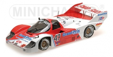 155836647 PORSCHE 956K – PRESTON HENN T-BIRD SWAP SHOP – GALICA/SUTHERLAND/HENN – BRANDS HATCH 1000 KM 1983  1:18