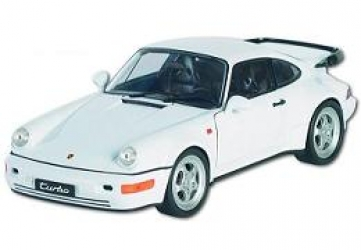 18026W Porsche 911 (964) Turbo white 1:18