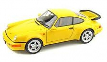 18026Y Porsche 911 (964) Turbo yellow 1:18