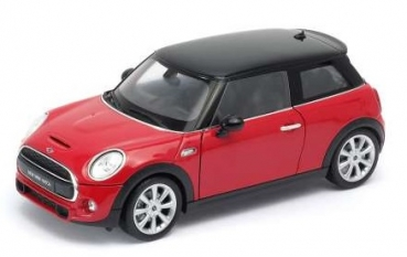 18050R New Mini Hatch 2015 red 1:24