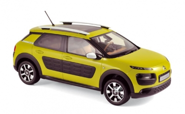 181650 Citroen C4 Cactus 2014 - Hello Yellow & Black Airbump 1:18