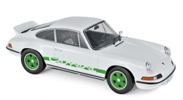 187636 Porsche 911 RS 1973 White & Green	1:18