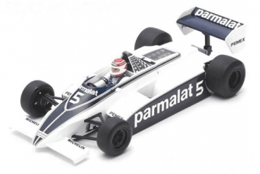 18S166 Brabham BT49C #5 Argentinien GP World Champion 1981 Nelson Piquet 1:18