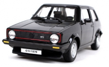 21089BK VW GOLF 1 1979 Black 1:24