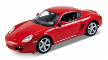 22488R PORSCHE CAYMAN S RED 1:24