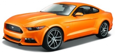 31197O FORD MUSTANG GT 2015 orange 1:18