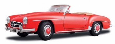 31824 Mercedes- Benz 190 SL Cabriolet 1955 Red 1:18