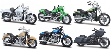 34360-37 Harley Assortment Serie 37 - Set of 12 pcs  1:18