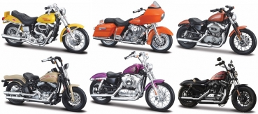 34360-38 Harley Assortment Serie 38 - Set of 12 pcs 1:18