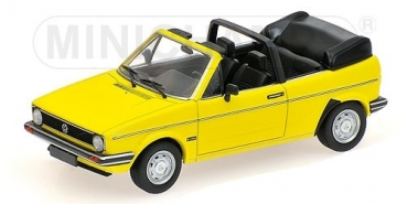 400055130 VOLKSWAGEN GOLF CABRIOLET - 1980 - YELLOW 1:43