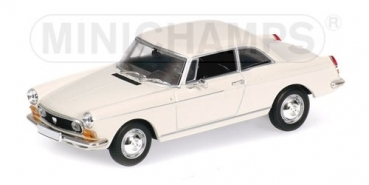 400112620 PEUGEOT 404 COUPE - 1962 - CREAM 1:43