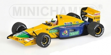 400920120 BENETTON FORD B191B - MARTIN BRUNDLE - 1992  1:43