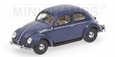 431051204 VOLKSWAGEN 1200 EXPORT - 1951 - BLUE - WITH ENGINE 1:43
