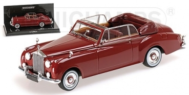 436134930 ROLLS ROYCE SILVER CLOUD II CABRIOLET - 1960 - RED 1:43
