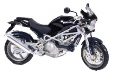 43717 Ducati Monster S4 black 1:12