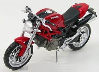 44023A Ducati Monster 1100 2010, red 1:12
