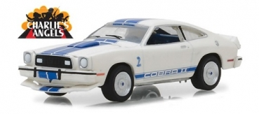 44790-A	Hollywood Series 19 - Charlie's Angels (1976–81 TV Series) - 1976 Ford Mustang II Cobra II  1:64