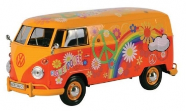 79563 VW T1 DELIVERY VAN Flower Power 1:24