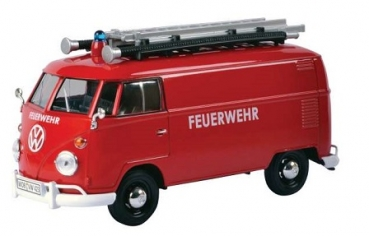 79564 VW T1 DELIVERY VAN FIRE ENGINE 1:24