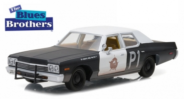 84011 Hollywood Series 1 - Blues Brothers (1980) - 1974 Dodge Monaco Bluesmobile 1:24