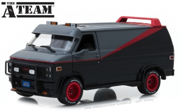 84072 The A-Team (1983-87 TV Series) - 1983 GMC Vandura 1:24