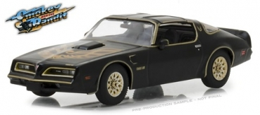 86513 Smokey and the Bandit (1977) - 1977 Pontiac Firebird Trans Am  1:43