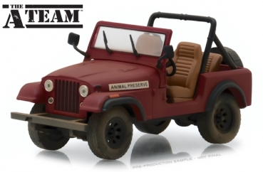 86528 The A-Team (1983-87 TV Series) - Jeep CJ-7  1:43