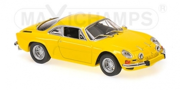940113601 RENAULT ALPINE A110 - 1971 - YELLOW 1:43