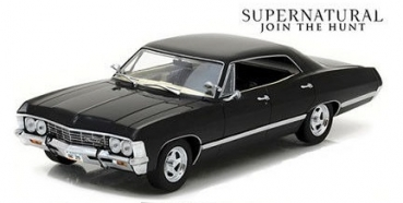 84032 Supernatural (2005-Current TV Series) - 1967 Chevrolet Impala Sport Sedan 1:24