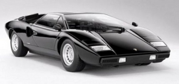 9531BK  LAMBORGHINI COUNTACH LP400 1974 Black 1:18