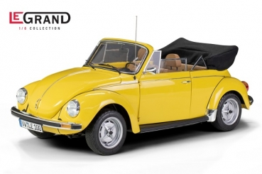 LE100 VW Käfer Cabrio 1303 sunny yellow - Limited Edition 500 pcs. 1:8