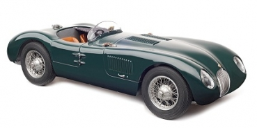 M191 Jaguar C-Type, 1952 (British Racing Green) 1:18