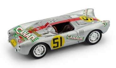 R274 PORSCHE 550RS 1954 CARRERA MEXICO #51 1:43