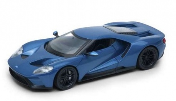 24082BL  Ford GT 2017 Blue 1:24
