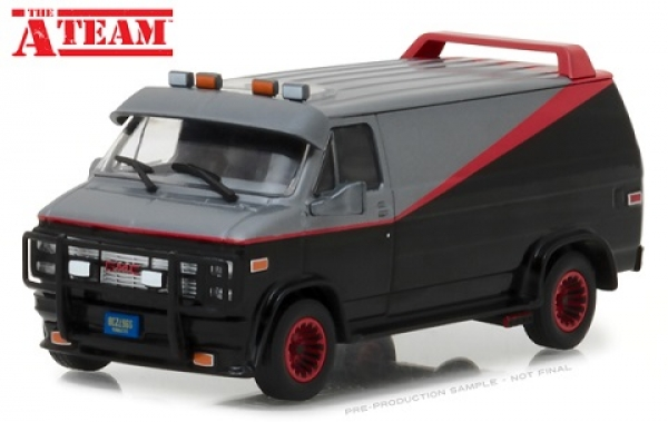 86515 The A-Team (1983-87 TV Series) - 1983 GMC Vandura 1:43