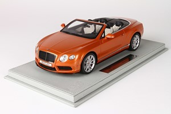 P1887A Bentley Continental GT V8 S Convertible Sunrise orange 1:18