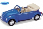 22091BL VW Käfer Cabriolet 1959 light blue 1:24