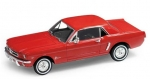 22451R Ford Mustang Coupe 1964 red 1:24