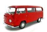 22472R VW T2 Bus 1972 red 1:24