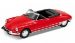 22506CR Citroen DS 19 Cabriolet dark red 1:24