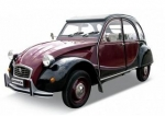 24009R Citroen 2CV Charleston red/black 1:24
