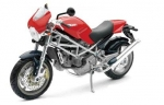 43713B Ducati Monster S4 red 1:12