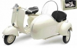 48993 VESPA 150 VL1T WITH SIDE CAR 1:6