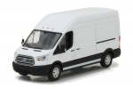 86083 2017 Ford Transit Extended Van High Roof - Oxford White 1:43