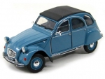 24009BL Citroen 2CV, blue 1:24
