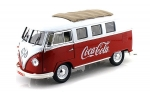 397471 1962 VW-Bus T1 Coca-Cola red/white 1:18