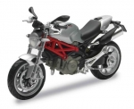 44023B Ducati Monster 1100 2010, grey 1:12