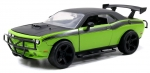 97131 2008 Dodge Challenger Off Road Fast and Furious, green/black 1:24